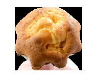 カップケーキ(オレンジ)